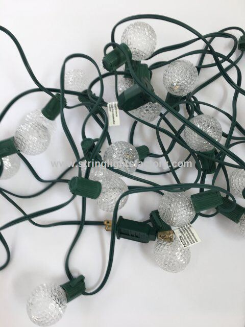 g40 candelabra screw base christmas light bulbs 3w wedding lights