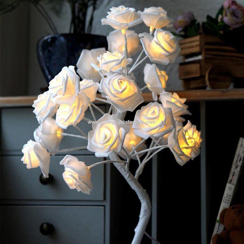 Promotional Bendable Rose Direction Desk Lamp Living Room