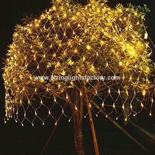 Netto Weihnachtsbeleuchtung.Werbeartikel Warm Weißes Mesh Netto Licht 200leds Baum Wickeln Licht